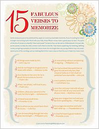 15 Fabulous Verses