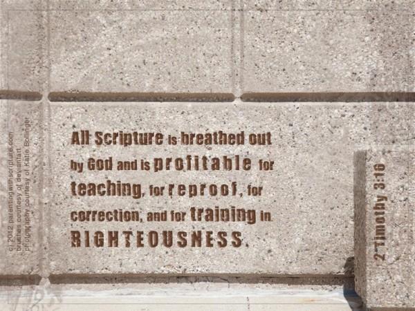 2 Tim 3:16