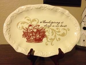 thankful plate 5