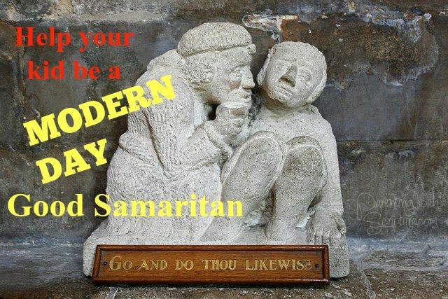 Help Your Kid Be A Modern Day Good Samaritan Parenting