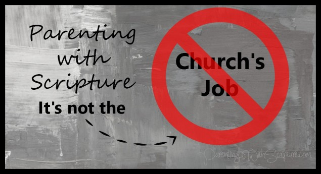 PWS not church's job